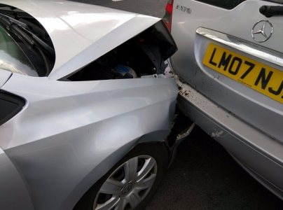 VW Polo Collision
